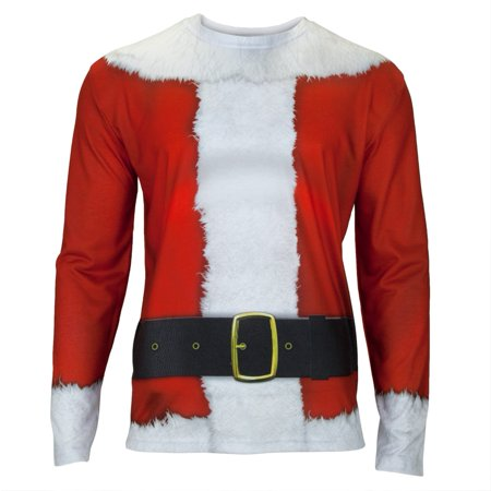 Faux Real - Santa Suit Costume Long Sleeve T-Shirt