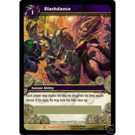 Slashdance World of Warcraft Drums of War Loot - War Of Warcraf