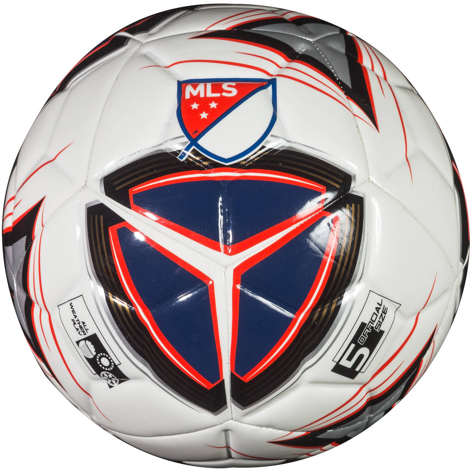 Franklin Sports MLS Size 5 Pro Badge Soccer Ball