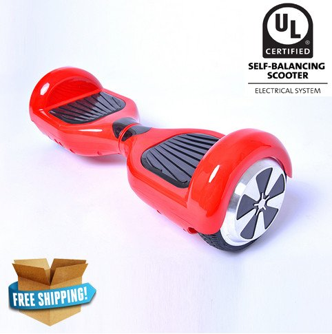 Hoverboard 6,5 inch Wheel Classic Style | Red