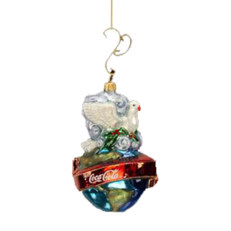 Polonaise Coca-Cola Peace Dove Christmas Ornament #AP1462CC