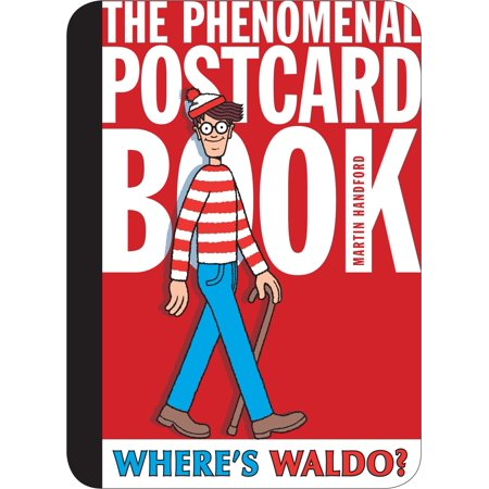 Where's Waldo? The Phenomenal Postcard Book - Wario Girl