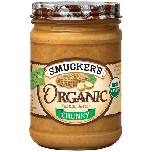 Smucker's Organic Chunky Peanut Butter, 16 oz