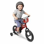 12in Hyper MX12 bike, Red, with Training Wheels