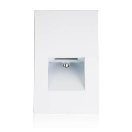 Maxxima Vertical LED Step Light Indoor Outdoor Warm White ()