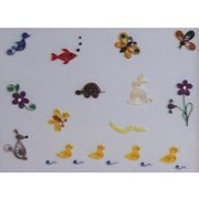 Quilling Kit Little Critters