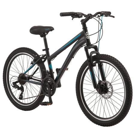 "Schwinn 24"" Black Sidewinder Mountain Bike for Girls"