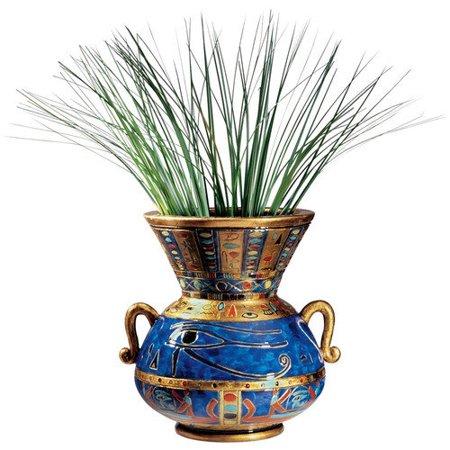 Design Toscano Eye of Horus Egyptian Vase