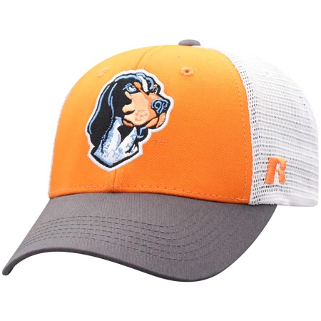 Men's Russell Tennessee Orange/White Tennessee Volunteers Steadfast Snapback Adjustable Hat - OSFA - Tennessee Volunteers Hat