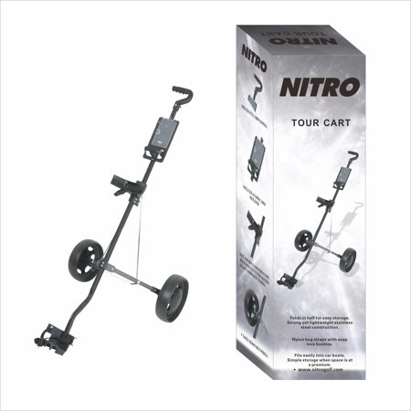 Golf Push Cart (Nitro Hand Golf Cart )