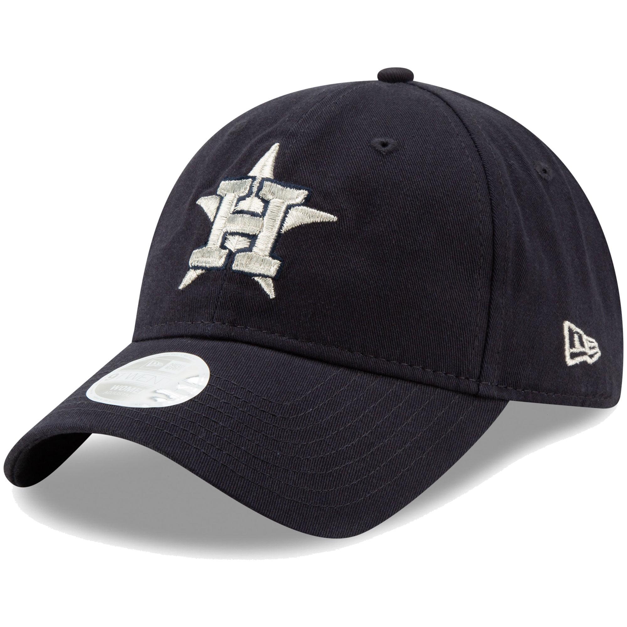 Houston Astros New Era Women's Stadium Collection Logo Beam 9TWENTY Adjustable Hat - Navy - OSFA