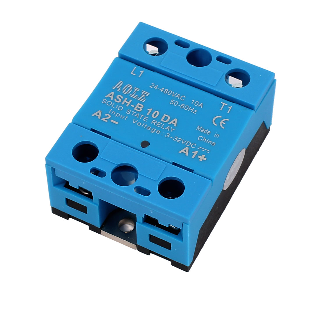 Solid State Relay Voltage Ash 10da 3 32vdc To 480vac 10a Single Phase Dc Ac Qty