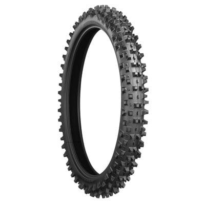 Factory Sand - 80/100x21 Bridgestone Battlecross X10 Mud and Sand Tire for KTM 450 SX-F Factory Edition 2012-2017