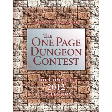 One Page Dungeon Contest, The - The Complete 2012 Collection New