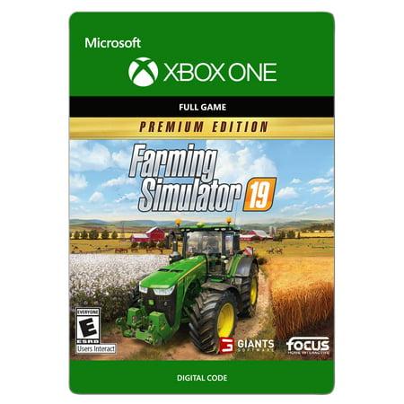Farming Simulator 19 Premium, Focus Home Interactive,Xbox, [Digital Download] (Flight Simulator Digital Download)