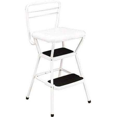Prime Cosco White Retro Counter Chair Step Stool With Lift Up Seat Ncnpc Chair Design For Home Ncnpcorg
