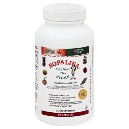Nopalina Flax Seed Plus Formula Capsules, 240 Ct (Borage Seed Oil Capsule)