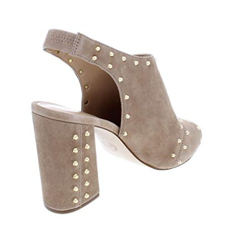 6610b90fa06f Michael Michael Kors Womens Astor Leather Peep Toe Casual - image 1 of 2 ...