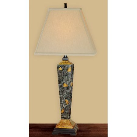 - JB Hirsch Home Decor Mystified Hand Painted Porcelain 33'' Table Lamp