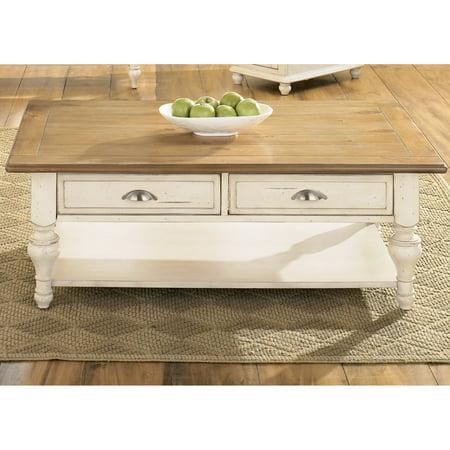 Liberty Furniture Ocean Isle Rectangular Cocktail Table ()