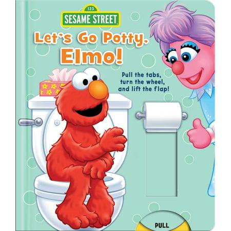 Lets Go Potty Elmo (Board