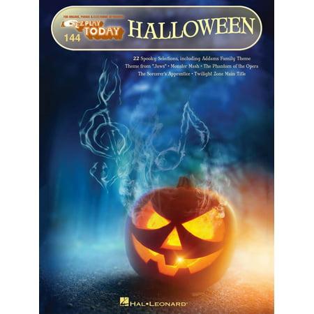 Hal Leonard Halloween E-Z Play Today Volume 144 - Classical Piano Music For Halloween