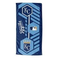 """MLB Kansas City Royals 30"""" x 60"""" """"Agile"""" Beach Towel, 1 Each"""