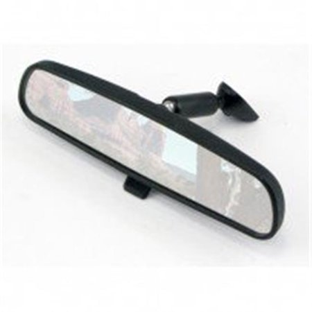 Omix-ADA 12020.03 Rear-View Mirror, 72-02 Jeep CJ And Wrangler - image 1 of 1