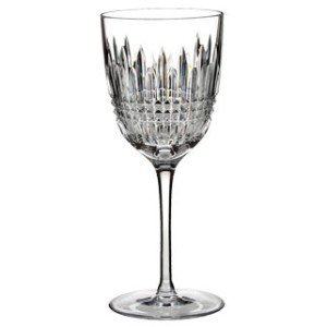 Waterford Lismore Diamond Collection Clear Crystal Red Wine Glass ()