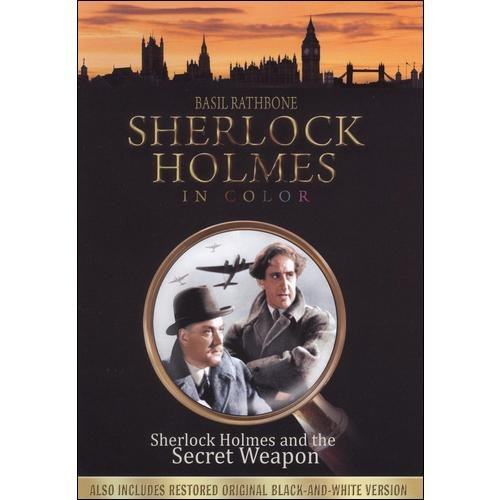 Sherlock Holmes And The Secret Weapon (Full Frame)