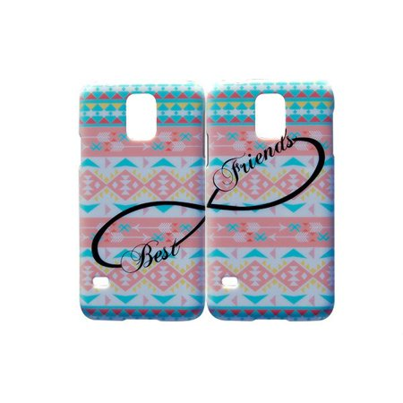 Set Of Pastel Aztec Best Friends Phone Cover For The Samsung Galaxy S6 Edge Case For iCandy