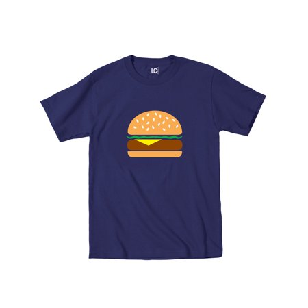 Burger Cartoon Picture Cute Foodie Food Truck Bacon Urban Novelty-Mens