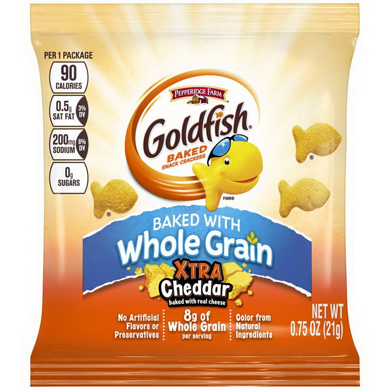 Pepperidge Farms 140023088 Goldfish Crackers Cheddar 300-.75 Ounce