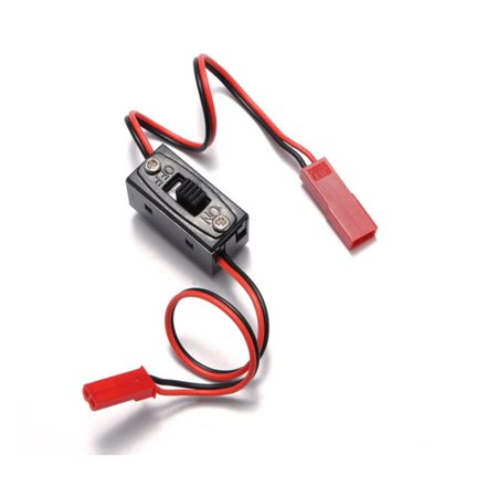 HobbyFlip On Off Switch JST Connector Plug Male Female Wire On/Off RC LiPo Battery Compatible with RC