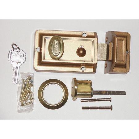 Kaba Ilco 220-53-51 Night Latch Auxiliary Lock, Bronz