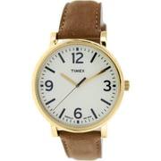 Timex Men's Originals T2P527 Brown Leather Analog Quartz Fashion Watch