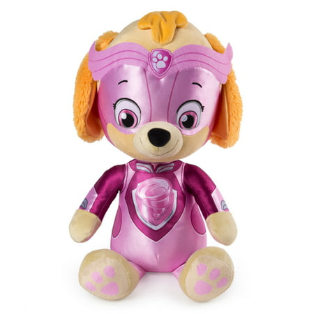 "PAW Patrol - 24"" Mighty Pups Jumbo Skye Plush for Ages 3 and Up, Wal-Mart Exclusive"