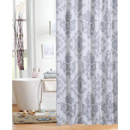 Mainstays Classic Noir Shower Curtain