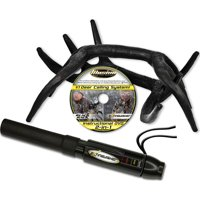 Illusion System Games Calls Extinguisher & Black Rack Combo Deer Call 771 (Black)