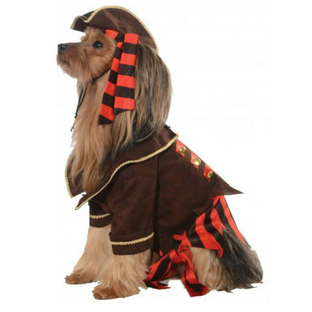 Rubies Pirate Boy Dog Costume - - Dog Pirate Costumes