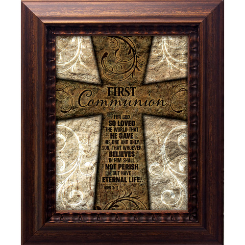 The James Lawrence Company 1st Communion Framed Graphic Art
