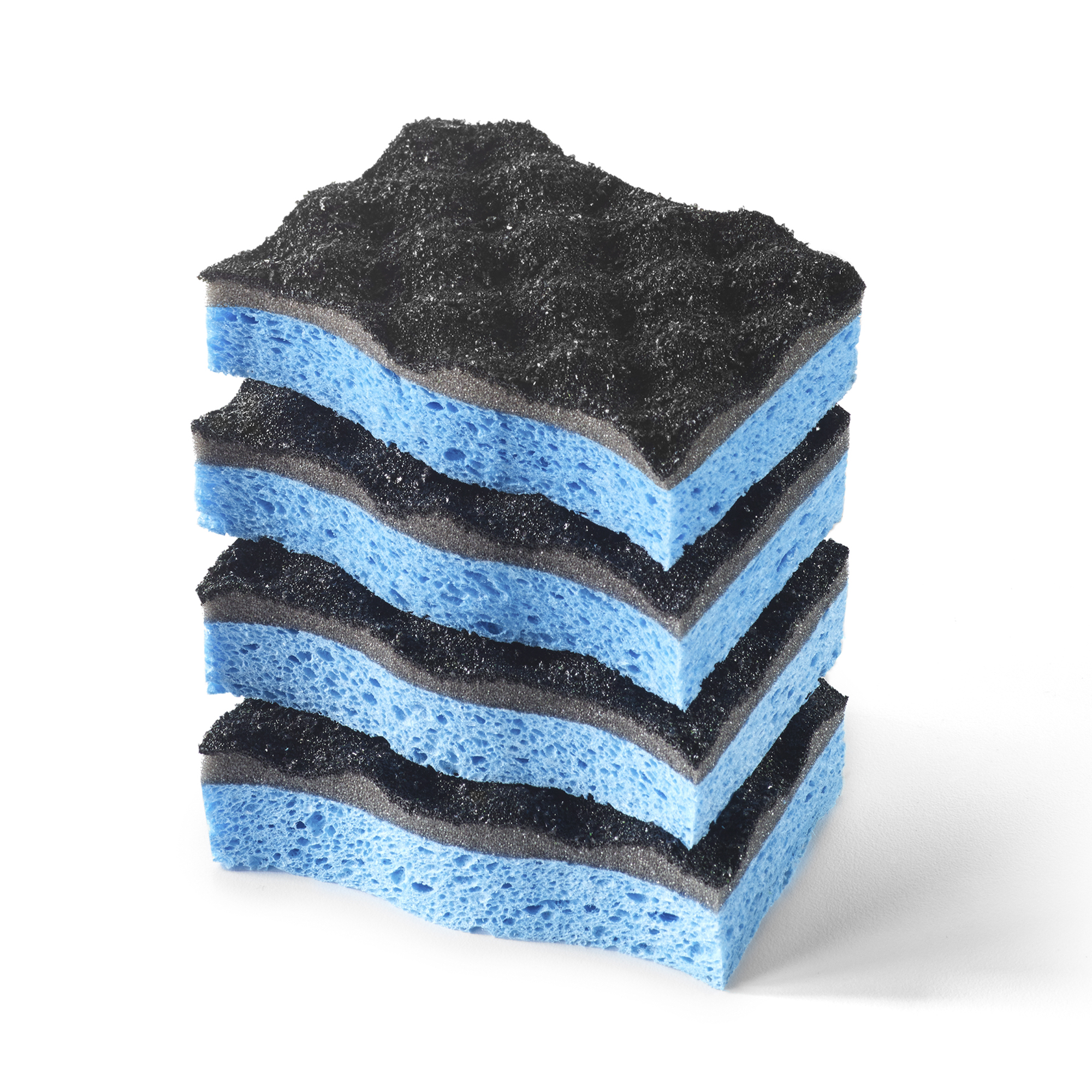 O-Cedar Heavy Duty Scrunge Scrubber Sponge (Pack of 4)