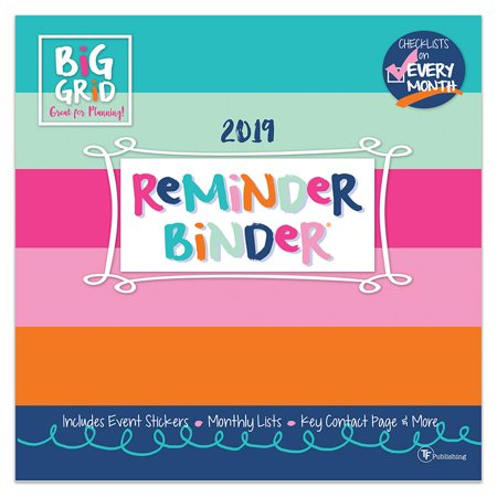 December Calendar 2019 For Binder 2019 Reminder Binder® 12