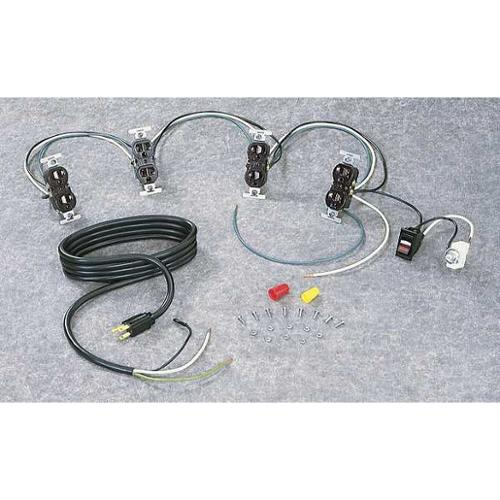 TENNSCO WK-1 Wiring Kit, Unassembled, For Workbenches