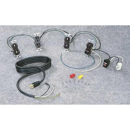 - TENNSCO WK-1 Wiring Kit, Unassembled, For Workbenches