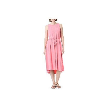 - Rock Fit LLC The Limited Womens Size X-Large Modal French Terry Midi Dress, Peachy Pink