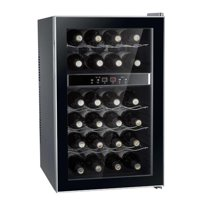 MegaMixer 24-Bottle Dual-Zone Thermo-Electric Wine Cooler