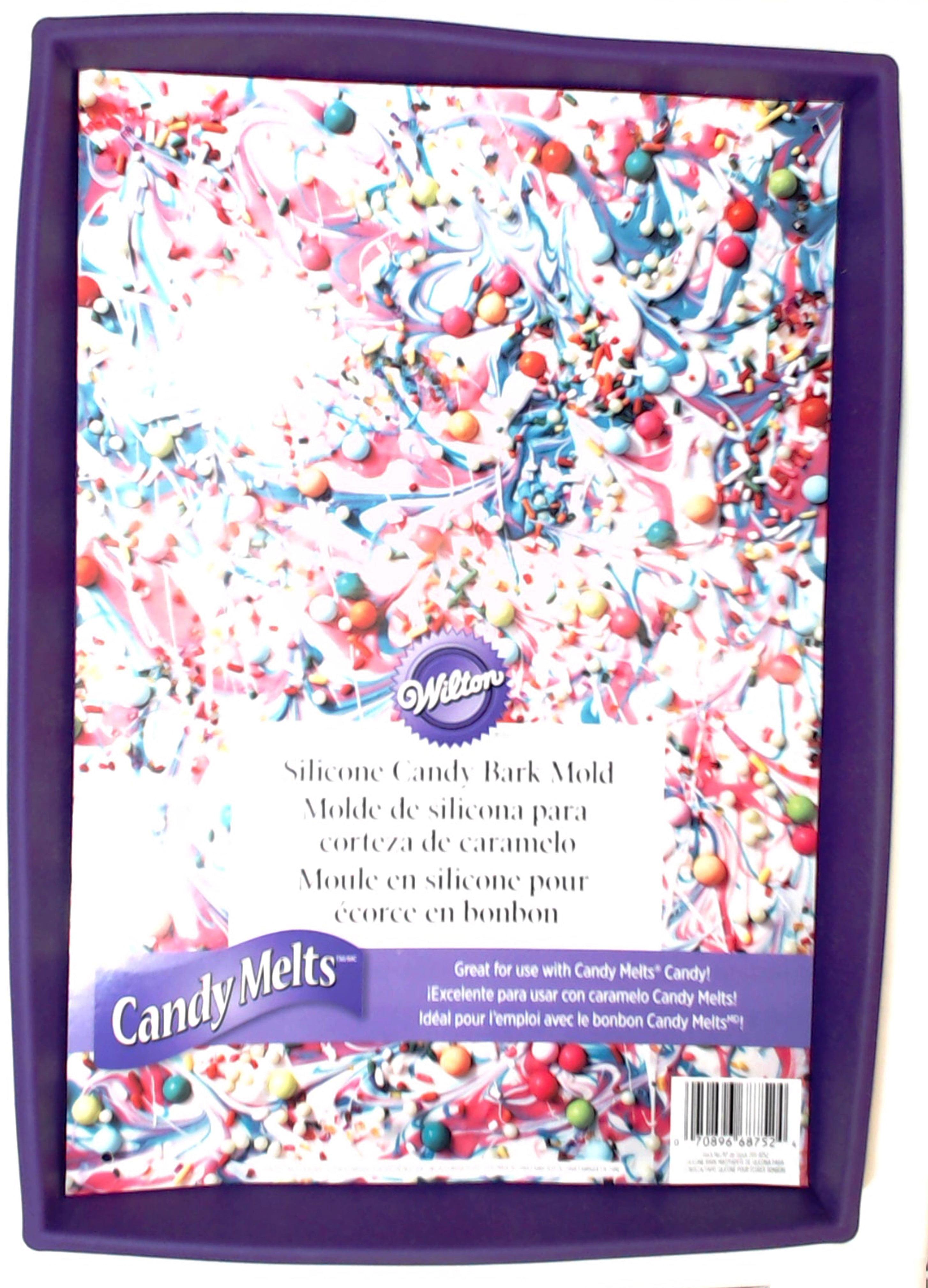 Wilton 2115-8752 Silicone Candy Bark Mold 9 x 13