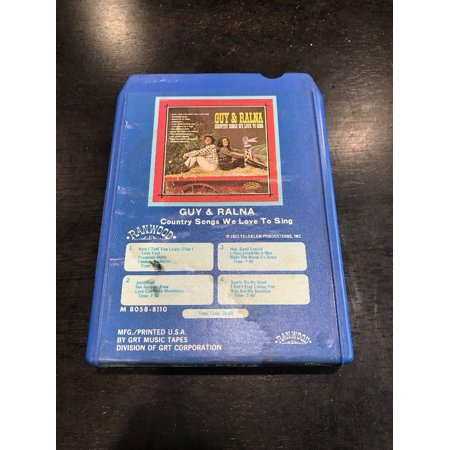 Guy & Ralna Country Songs 8 Track
