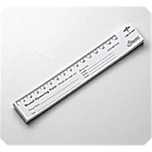 MEDLINE INDUSTRIES MSCEDURULER Wound Measuring Rulers - Wound Measuring Ruler 25 sheets pad 10 pads pack - 1 PK